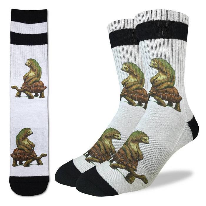 Men's Tortoise and the Sloth Socks