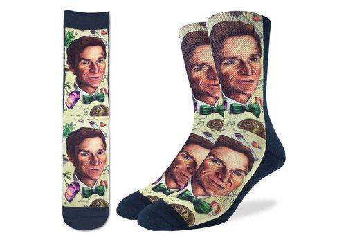 Good Luck Sock Men's Bill Nye Socks