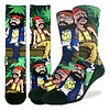 Good Luck Sock Men's Cheech and Chong on Couch Socks