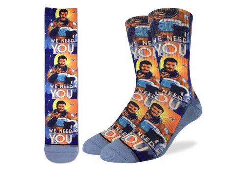 Good Luck Sock Men's Neil deGrasse Tyson Socks