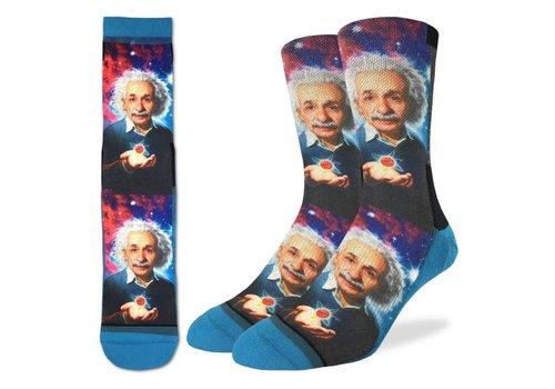 Good Luck Sock Men's Albert Einstein Socks