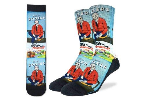 Good Luck Sock Men's Mister Rogers' Neighborhood Socks