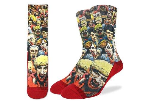 Good Luck Sock Men's Zombie Horde Socks