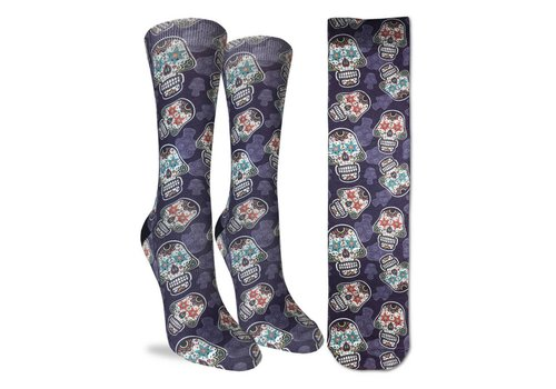 Good Luck Sock Women's Sugar Skulls Socks