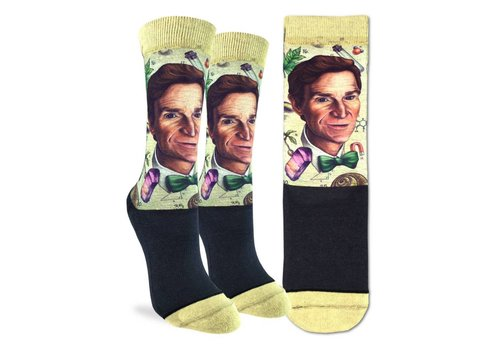 Good Luck Sock Women's Bill Nye Socks