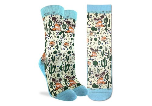 Good Luck Sock Women's Fennec Fox Socks