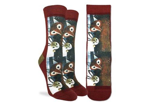 Good Luck Sock Women's Fox and Rabbit Socks