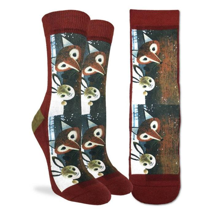 Women's Fox and Rabbit Socks