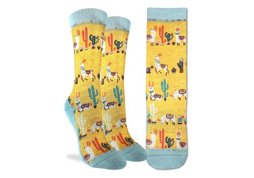Good Luck Sock Women's Llamas Socks