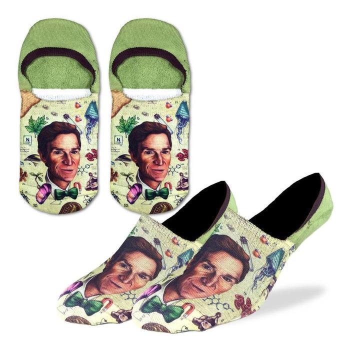 Men's Bill Nye No Show Ankle Socks