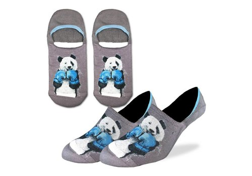 Good Luck Sock Men's Boxing Panda No Show Ankle Socks