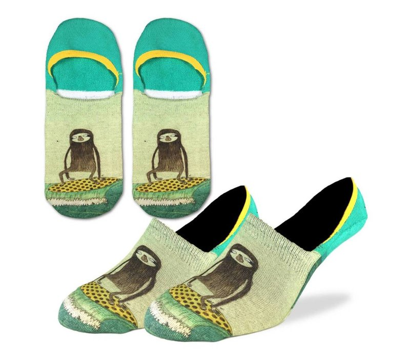 Men's Surfing Sloth No Show Ankle Socks