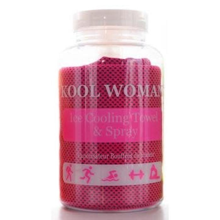 Kool Woman Cooling Towel and Spray