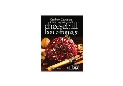 Gourmet Du Village Cheeseball Mix Cranberry Cinnamon