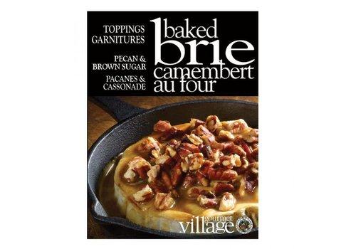 Gourmet Du Village Brie Toppings Pecan Brown Sugar