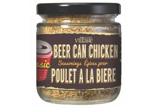 Gourmet Du Village Seasoning in a Jar Beer Can Chicken Classic