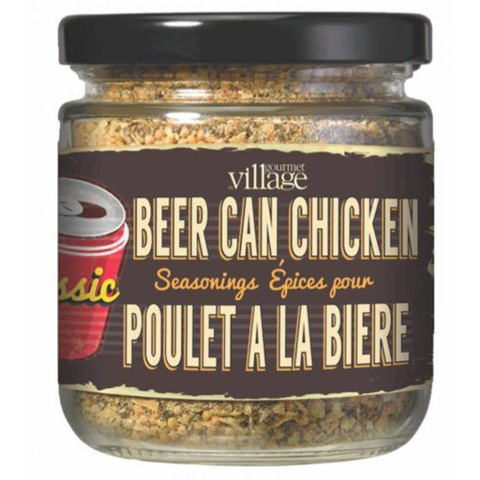 Seasoning in a Jar Beer Can Chicken Classic