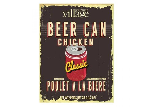 Gourmet Du Village Seasoning Box Beer Can Chicken Classic