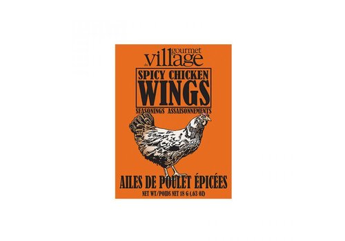 Gourmet Du Village Seasoning Recipe Box Spicy Wing