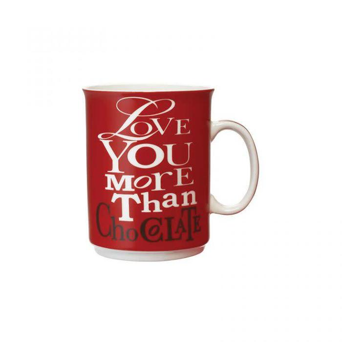 Mug Love You More Than Chocolate