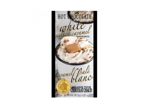 Gourmet Du Village Mini Hot Chocolate White Salted Caramel