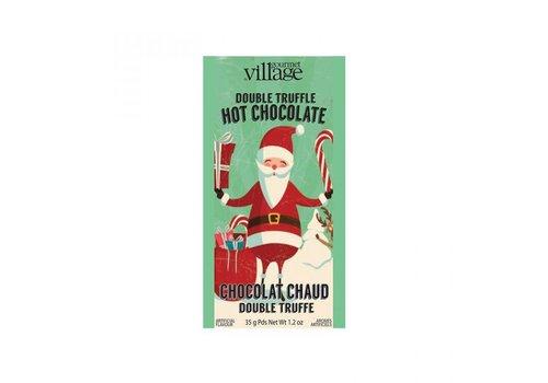 Gourmet Du Village Mini Hot Chocolate Retro Santa