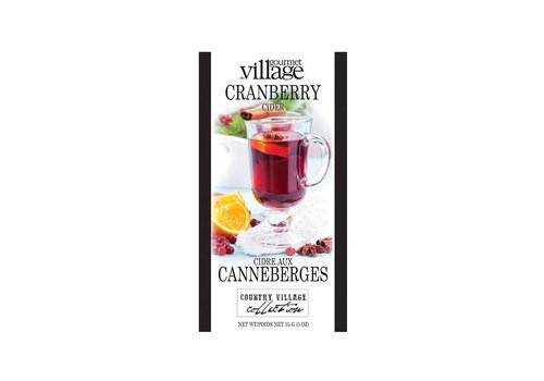 Gourmet Du Village Mini Cranberry Cider Mix