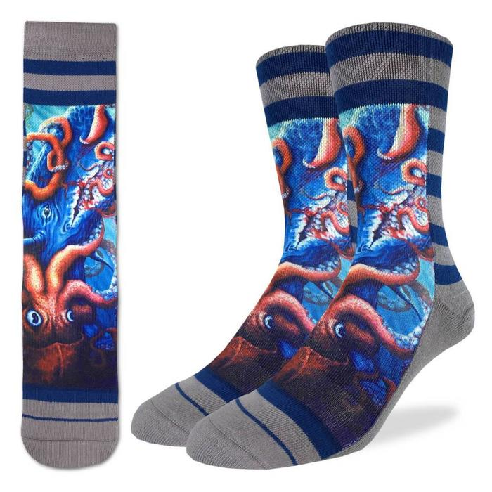 Men's Squid Attack Socks