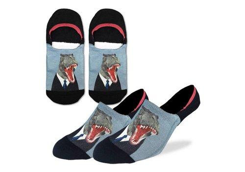 Good Luck Sock Men's Mr. T-Rex No Show Socks