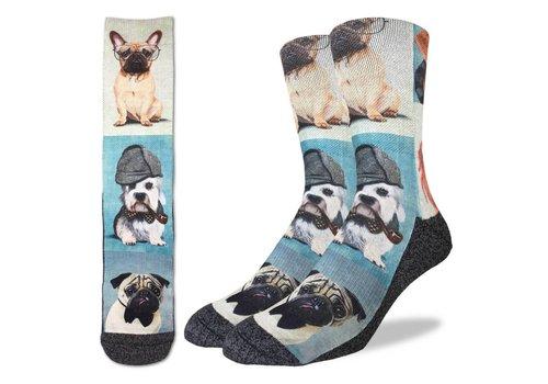 Good Luck Sock Men's Dashing Dogs Socks
