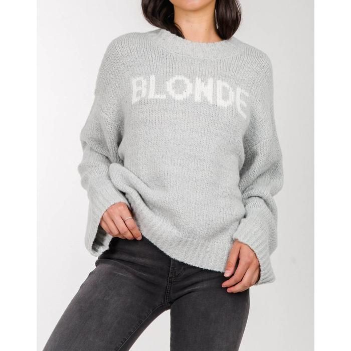 Blonde Yes Girl Sweater