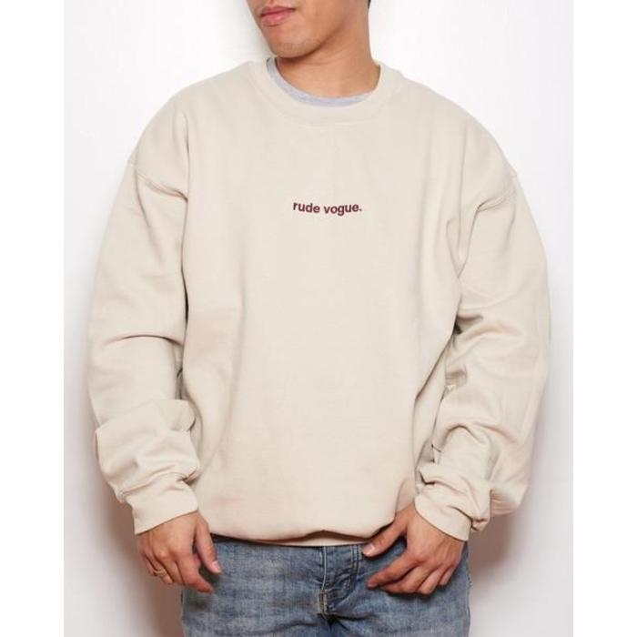 Rude Vogue Stitch Sweatshirt