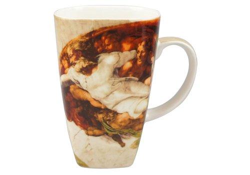 Michelangelo Creation of Adam Grande Mug