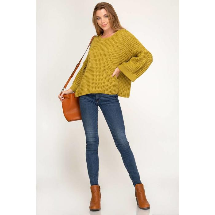 Bell Sleeve Sweater Dutch Growers