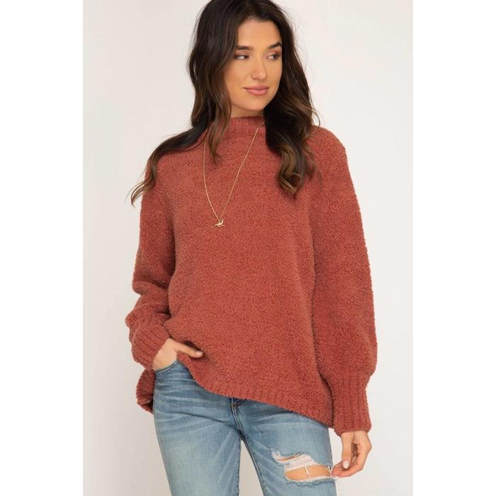 Turtle Neck Sweater Dutch Growers
