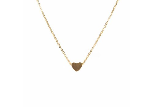 Park & Buzz Heart Mini Metal Necklace