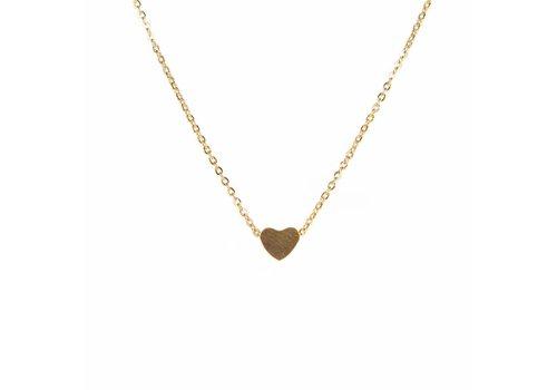 Park & Buzz Heart Mini Metal Necklace