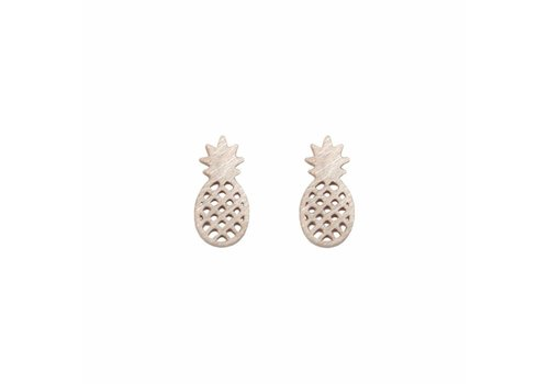 Park & Buzz Mini Metal Stud Pineapple
