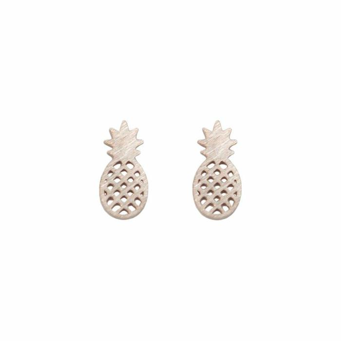 Mini Metal Stud Pineapple