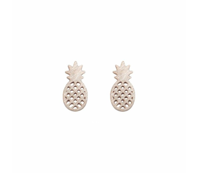 Mini Metal Stud Pineapple