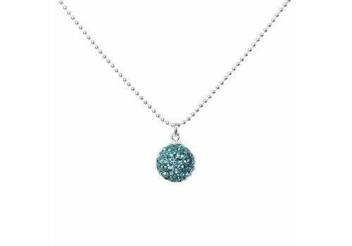 Park & Buzz Radiance Necklace Teal