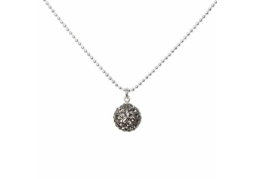 Park & Buzz Radiance Necklace Charcoal