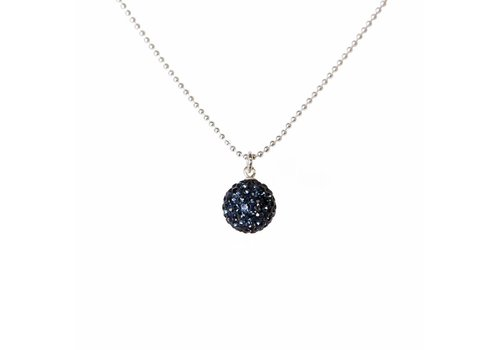 Park & Buzz Radiance Necklace Navy
