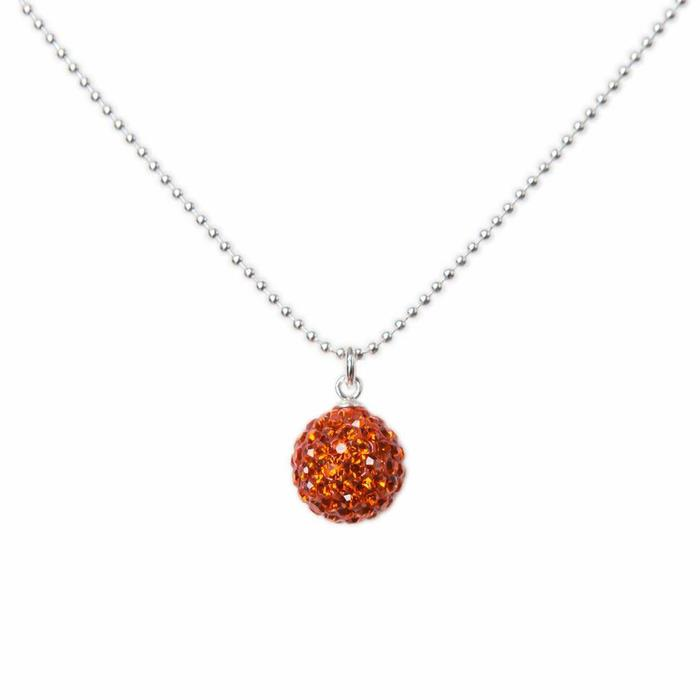Radiance Necklace Burnt Orange
