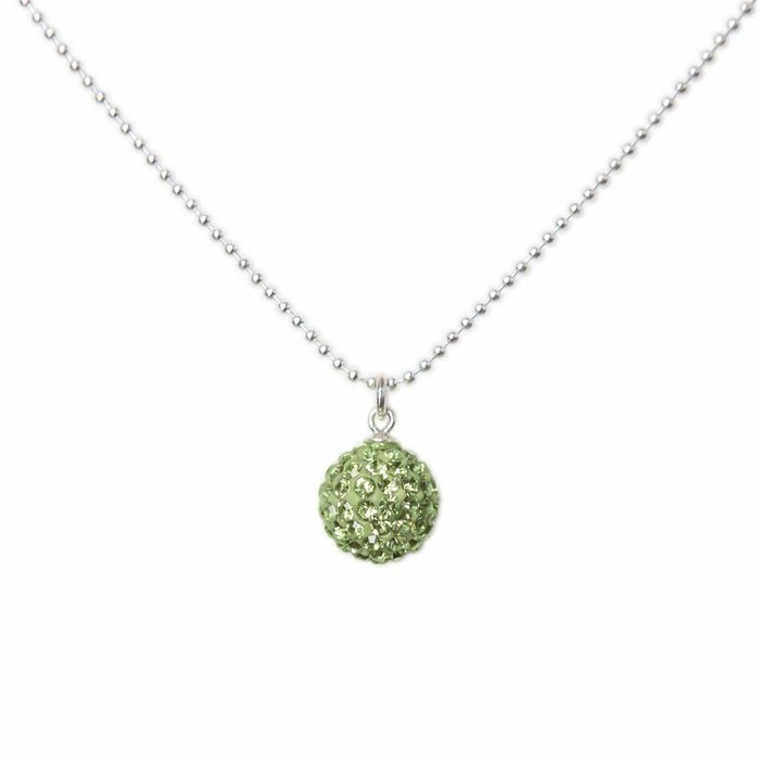 Radiance Necklace Lime