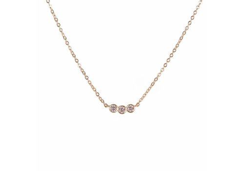Park & Buzz Three Dot Necklace
