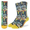 Good Luck Sock Men's Batman and Ramen Socks