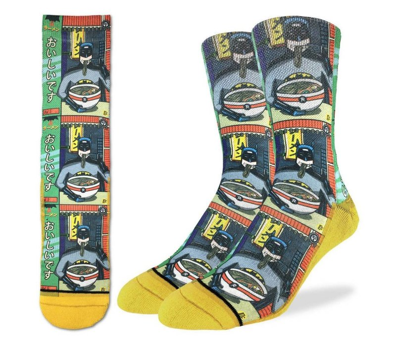 Men's Batman and Ramen Socks