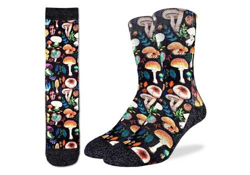 Good Luck Sock Men's Mushrooms Socks