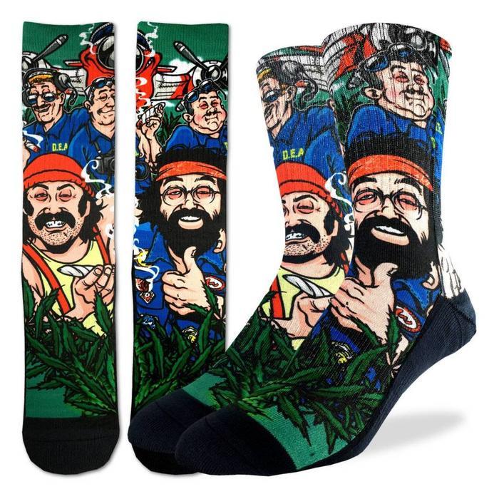 Men's Cheech and Chong DEA Socks